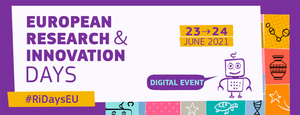 European Research and Innovation Days @ Online