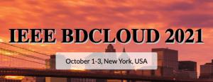 BDCloud 2021 @ New York, USA