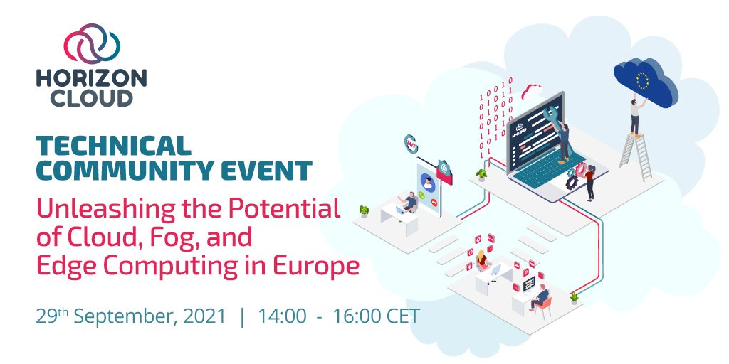 """HORIZON CLOUD Technical Community Event """"Unleashing the Potential of Cloud, Fog, and Edge Computing in Europe"""""""