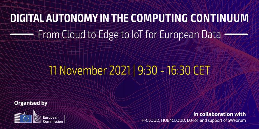 EC Virtual Event – Digital Autonomy in the Computing Continuum @ Online