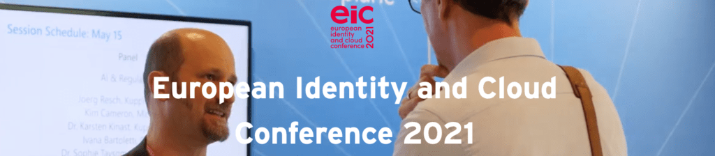 European Identity and Cloud Conference 2021 @ Munich, Germany